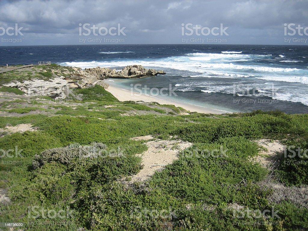 Rottnest Island Coastline royalty-free stock photo
