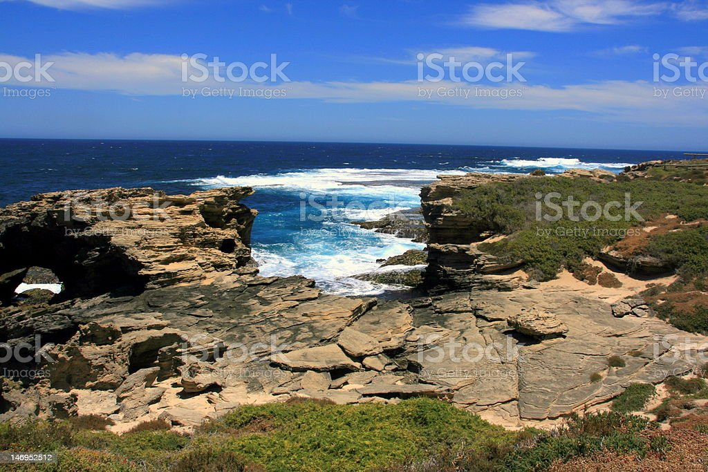 Rottnest Island Western Australia royalty-free stock photo