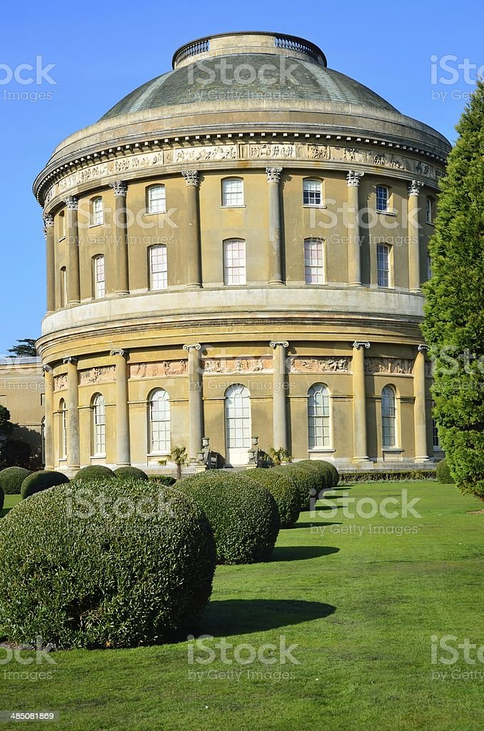 Rotunda at Ickworth stock photo