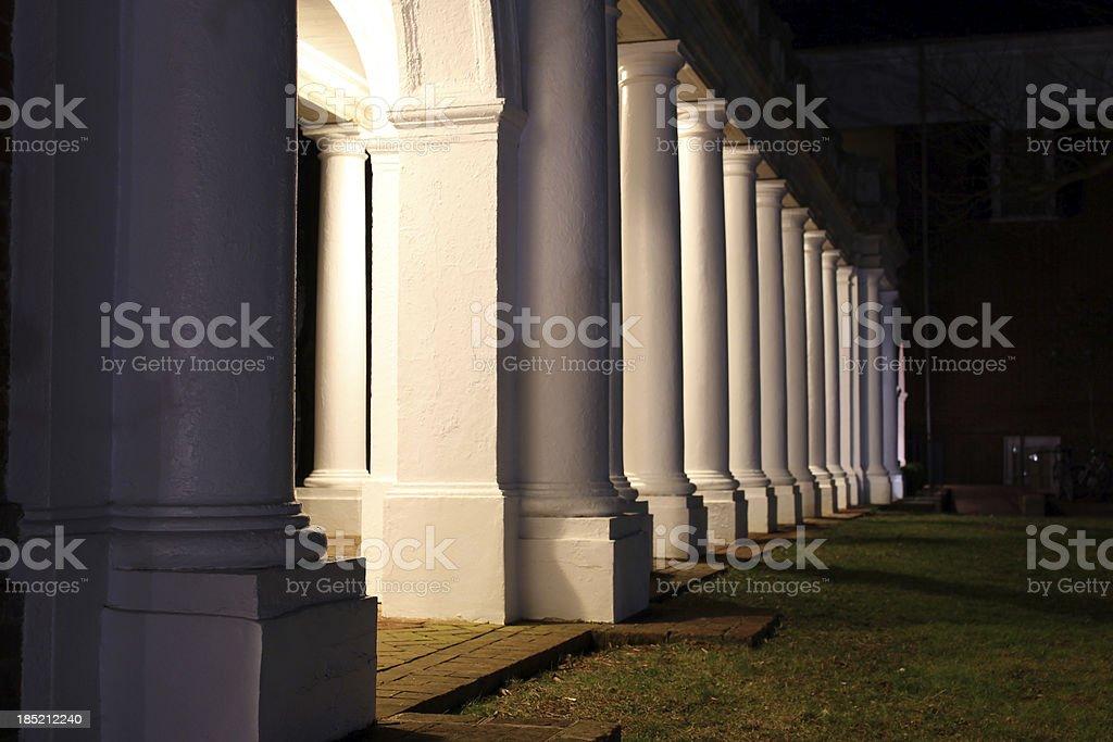 Rotunda Columns stock photo