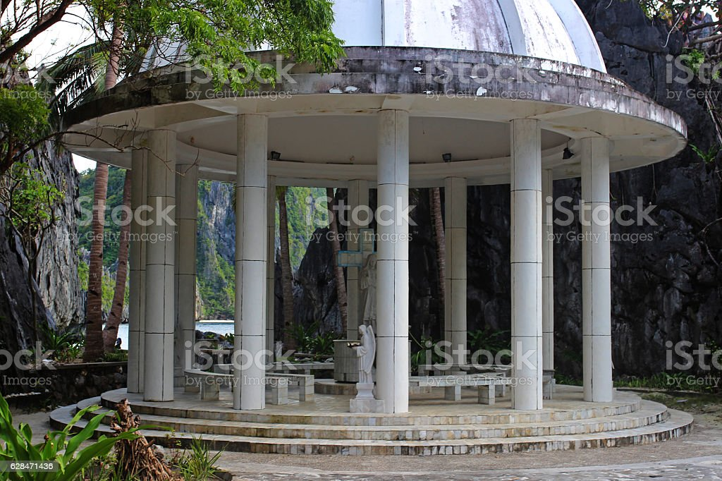 Rotunda in the in Philippines stock photo