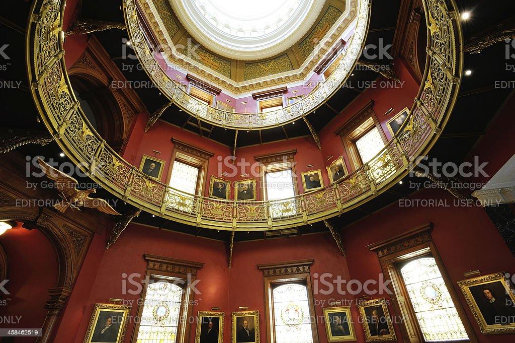 Rotunda of New Jersey State House royalty-free stock photo