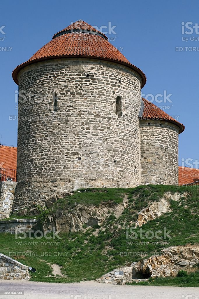 Rotunda of Saint Catherine in Znojmo royalty-free stock photo