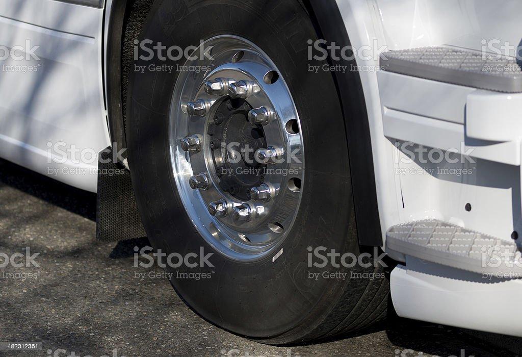 Roue de camion stock photo
