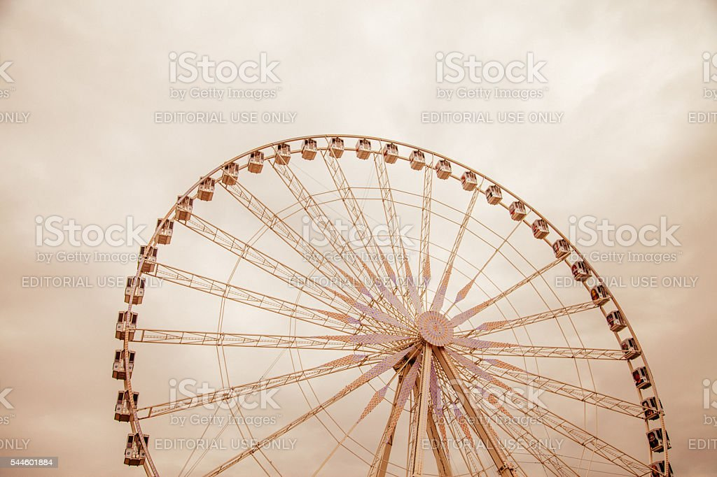 Roue de Paris Ferris Wheel stock photo