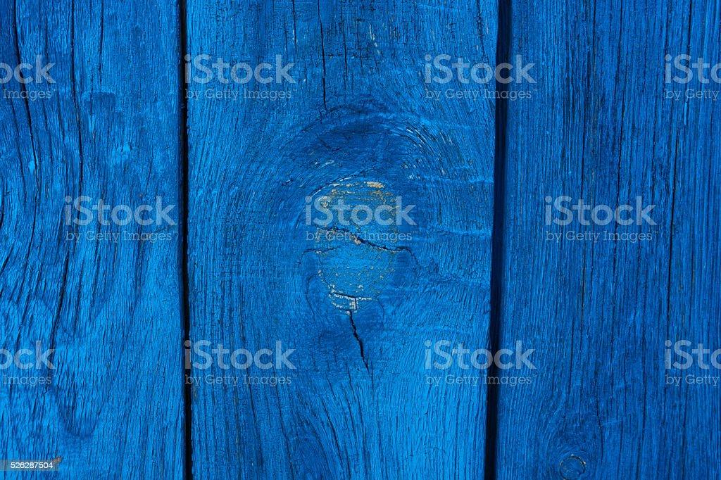 Rough blue wooden texture stock photo