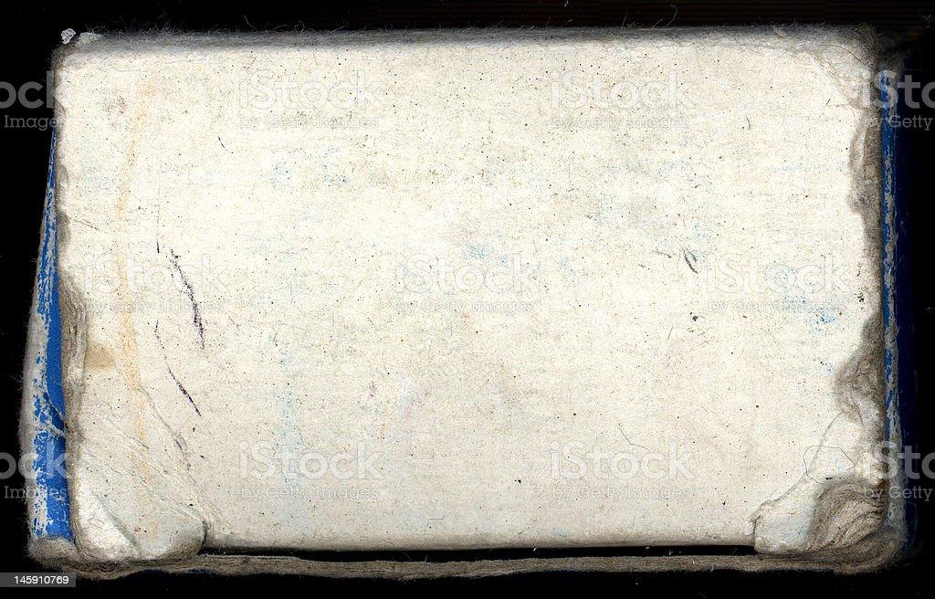 Rough box and border royalty-free stock photo