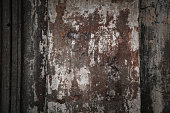 Rough concrete texture. Dark background, old wall