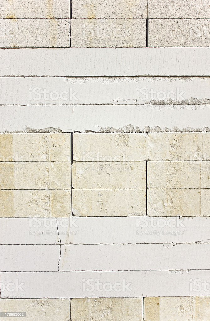 Rough crack wall. royalty-free stock photo