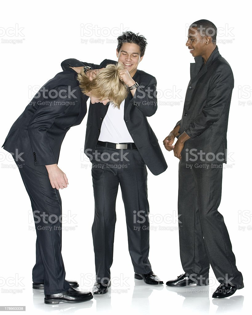 Rough Day at the Office stock photo