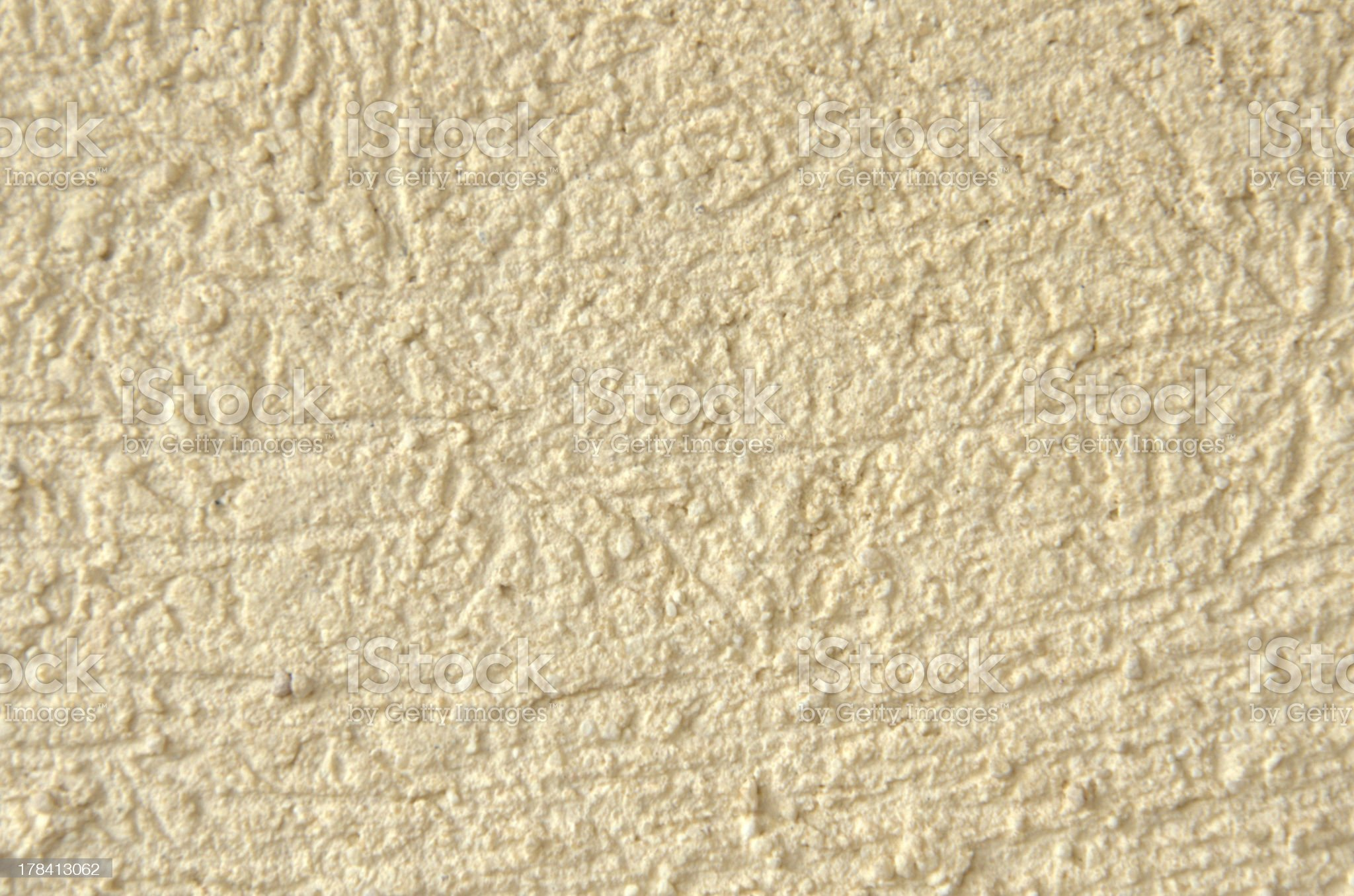 Rough Golden Stucco Background royalty-free stock photo