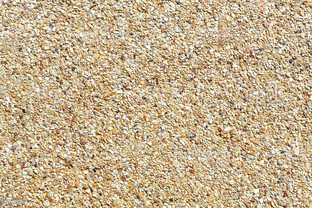 Rough gravel floor royalty-free stock photo