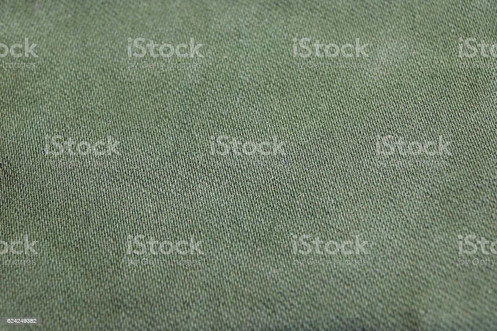 Rough Khaki Military Textile Or Pattern Background stock photo