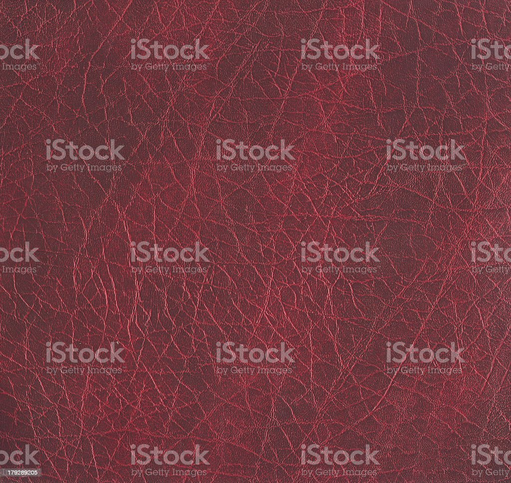 rough maroon leather texture - XL size royalty-free stock photo