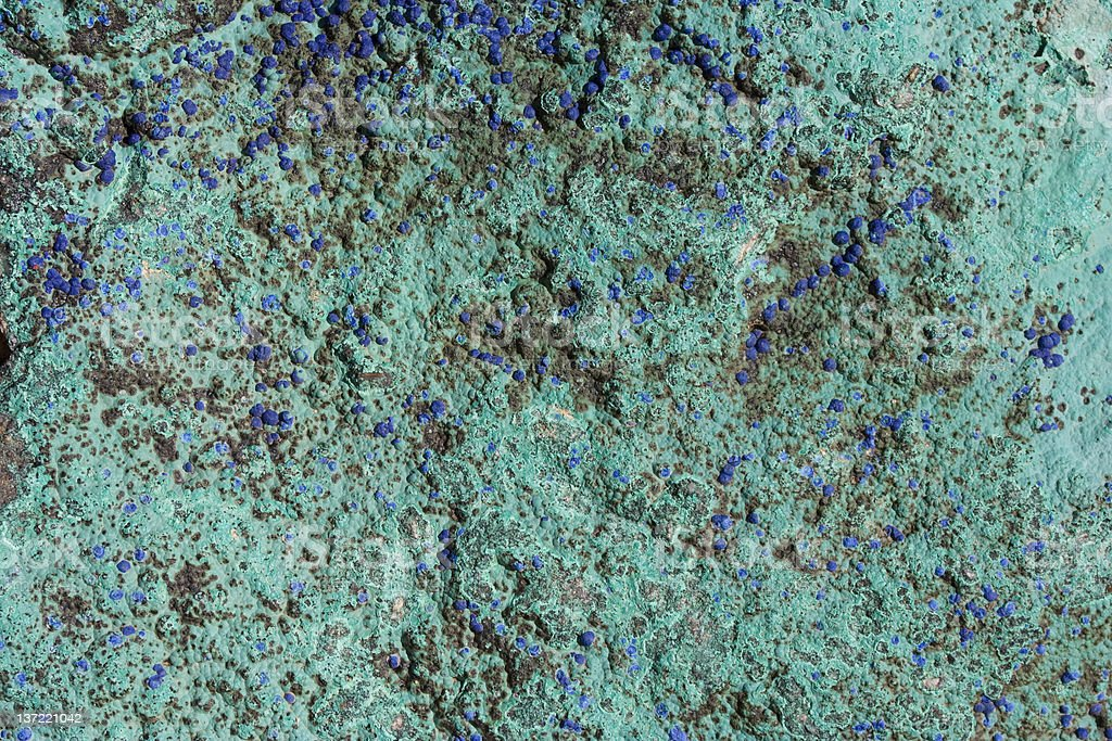 Rough Natural Blue and Green Turquoise Background royalty-free stock photo
