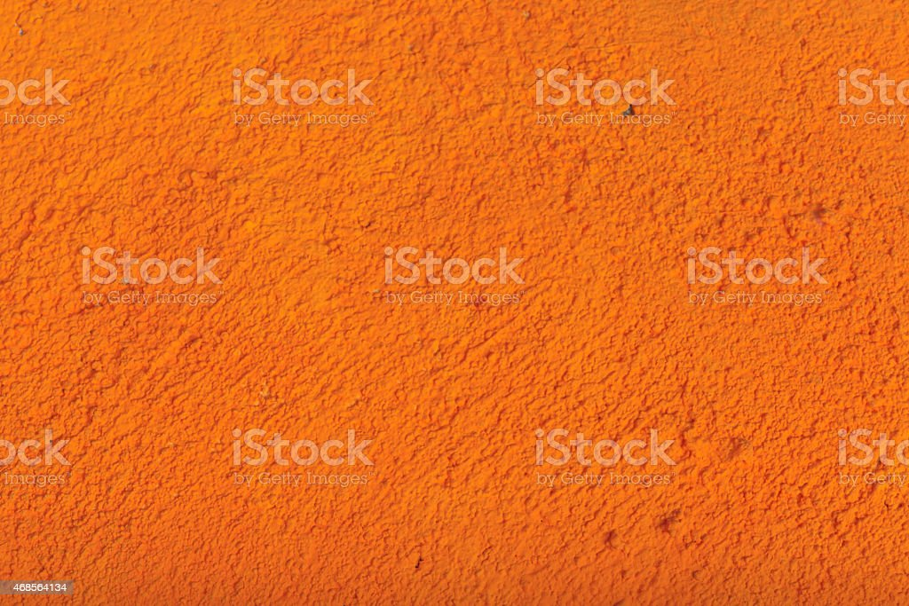 Rough orange cement wall royalty-free stock photo