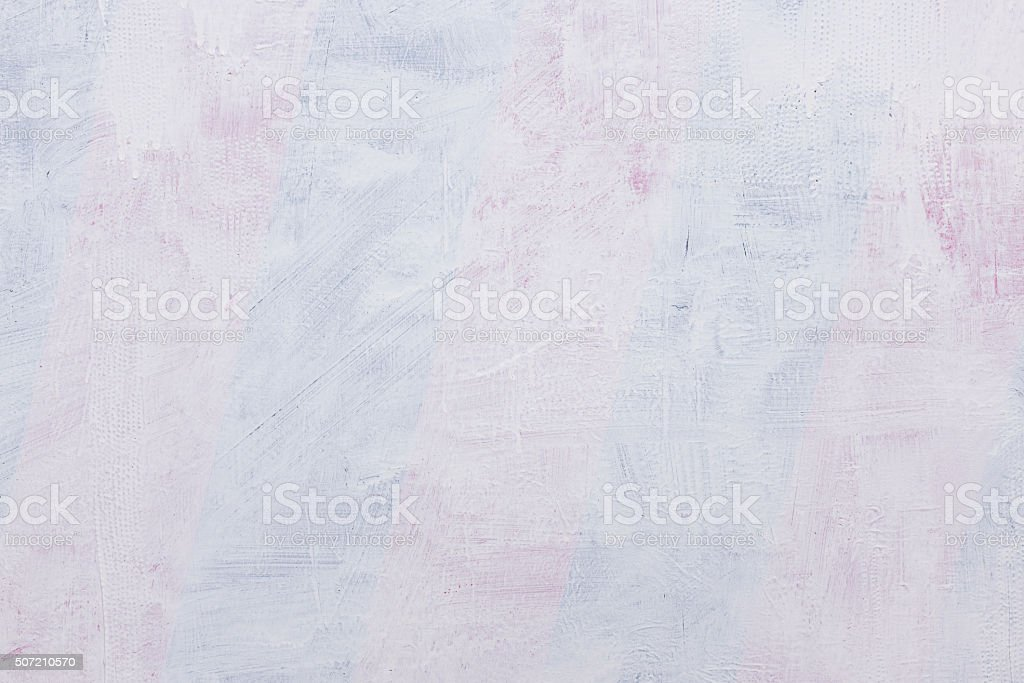 rough painted wall with transparent white paint. stock photo
