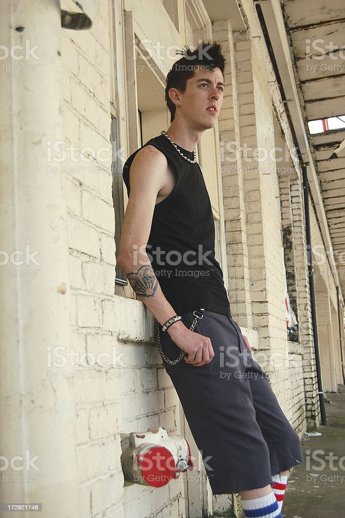 Rough Punk stock photo