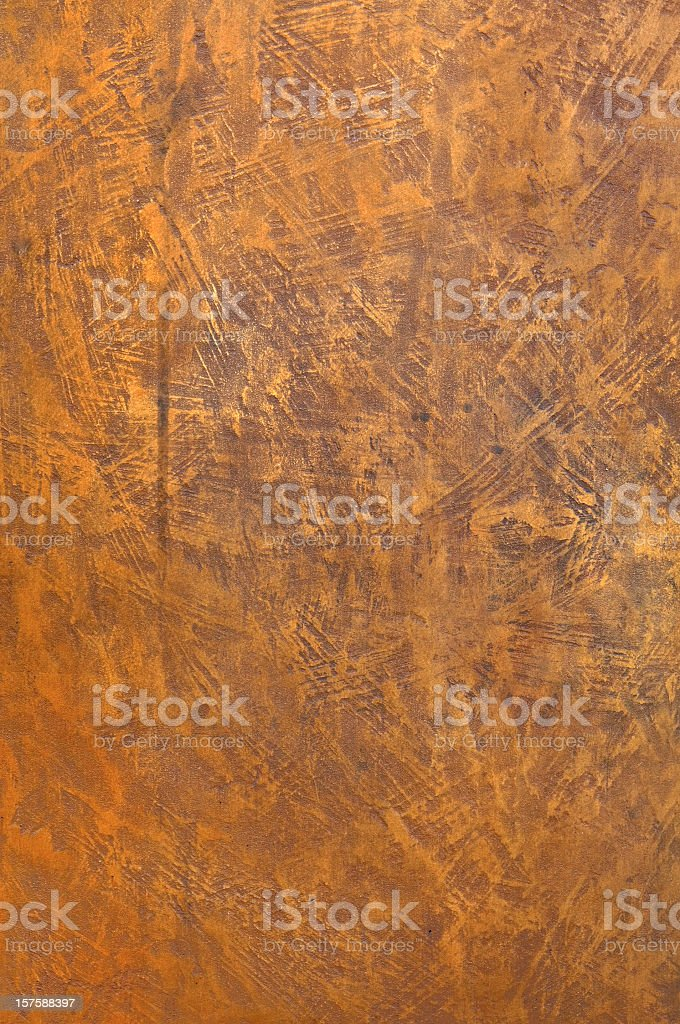 Rough structured red brown copper bronze metal surface royalty-free stock photo