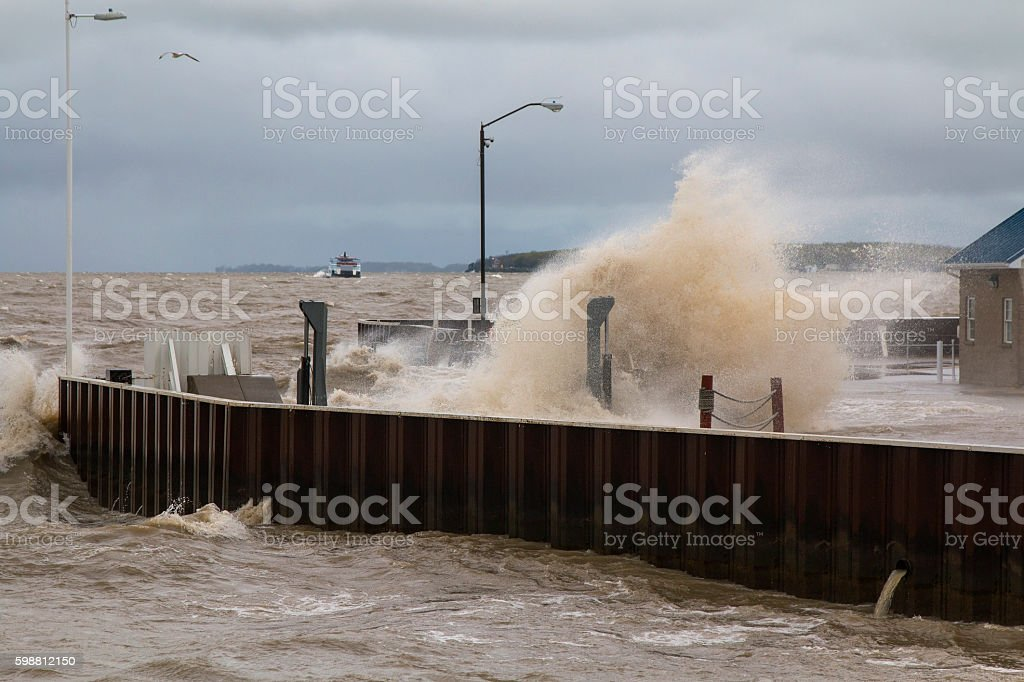 Rough Surf stock photo