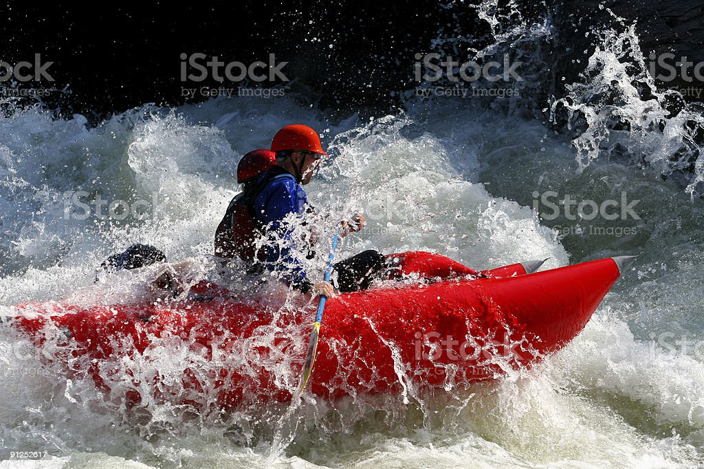 Rough Water royalty-free stock photo