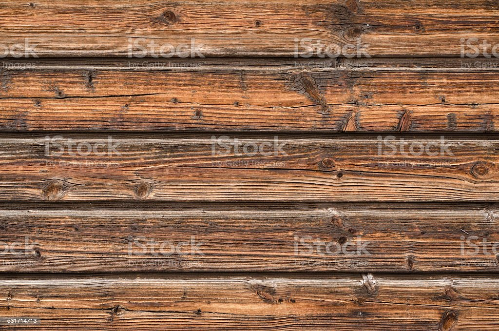 Rough wooden board stock photo