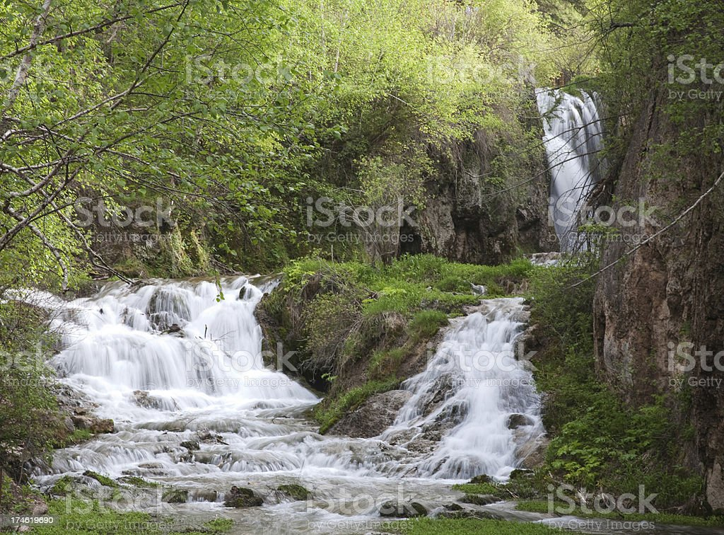 Roughlock Falls royalty-free stock photo