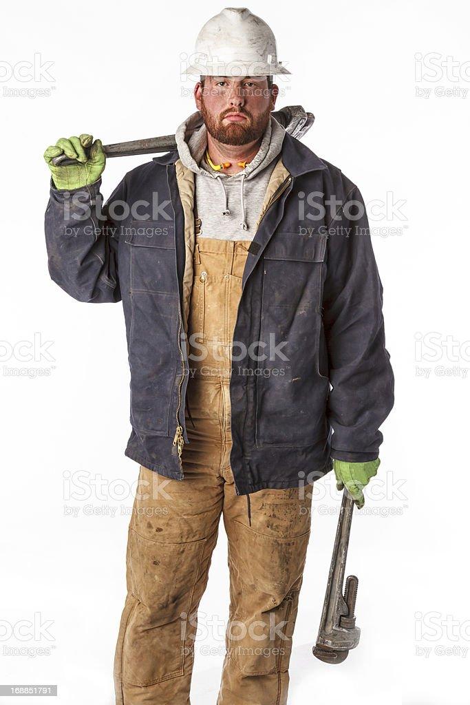 Roughneck Portrait stock photo