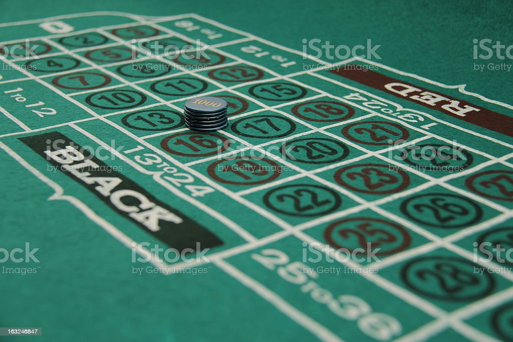 Roulette background royalty-free stock photo