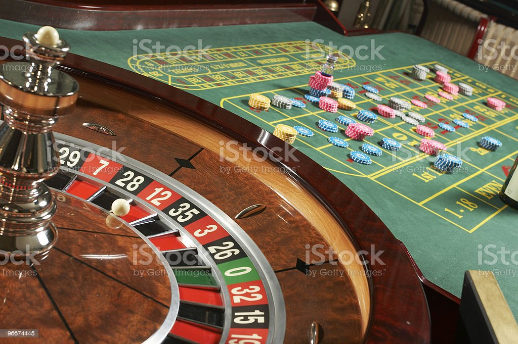 Roulette casino royalty-free stock photo