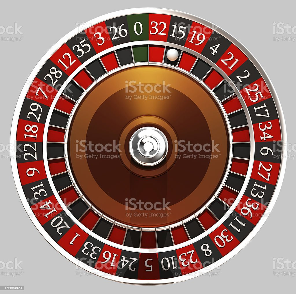 roulette circle royalty-free stock photo