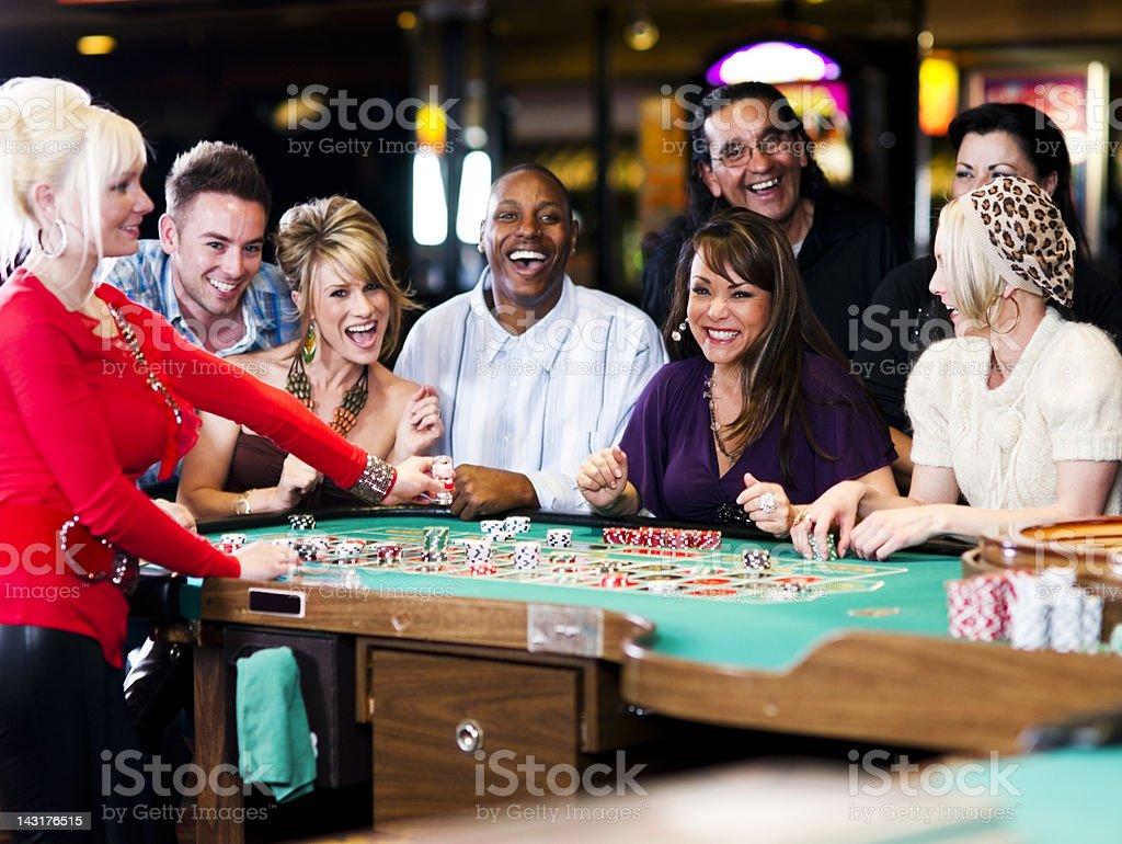 Roulette Fun royalty-free stock photo