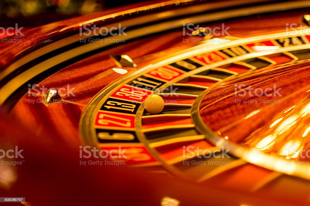 Roulette stock photo