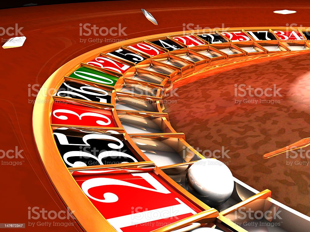 roulette series 001 royalty-free stock photo