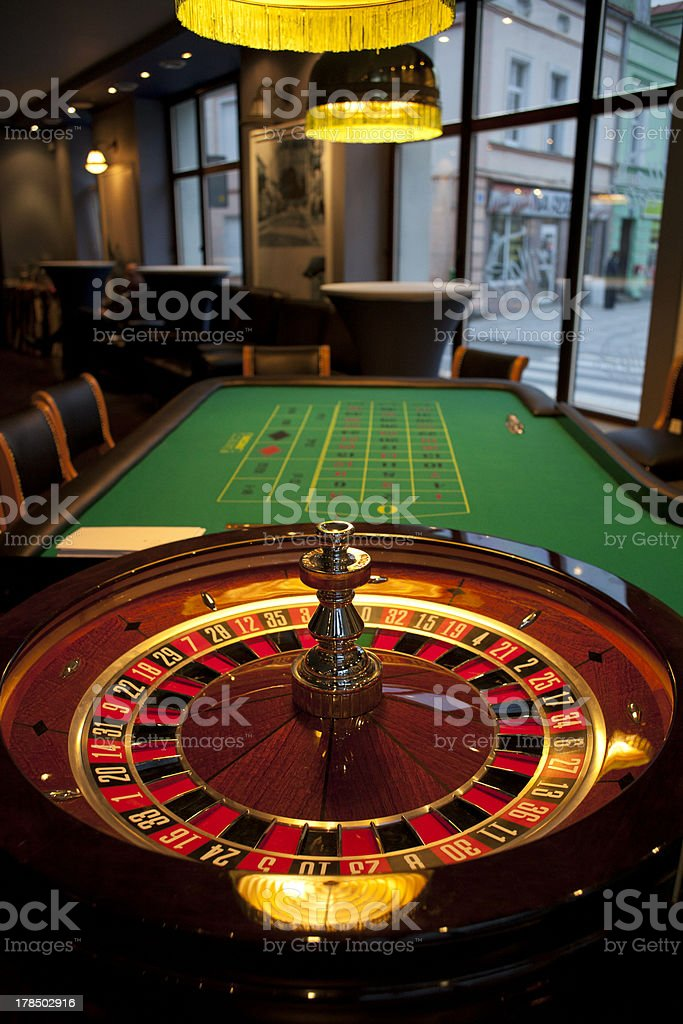 Roulette table royalty-free stock photo