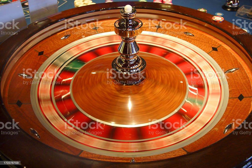 Roulette Wheel 1 royalty-free stock photo