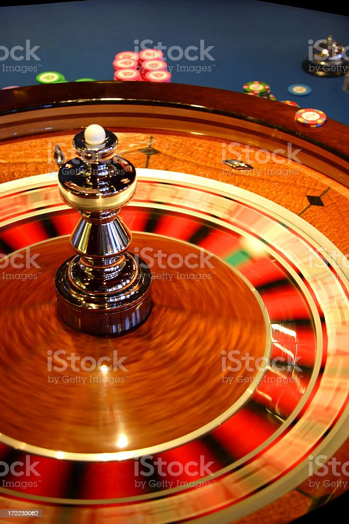Roulette Wheel 2 royalty-free stock photo