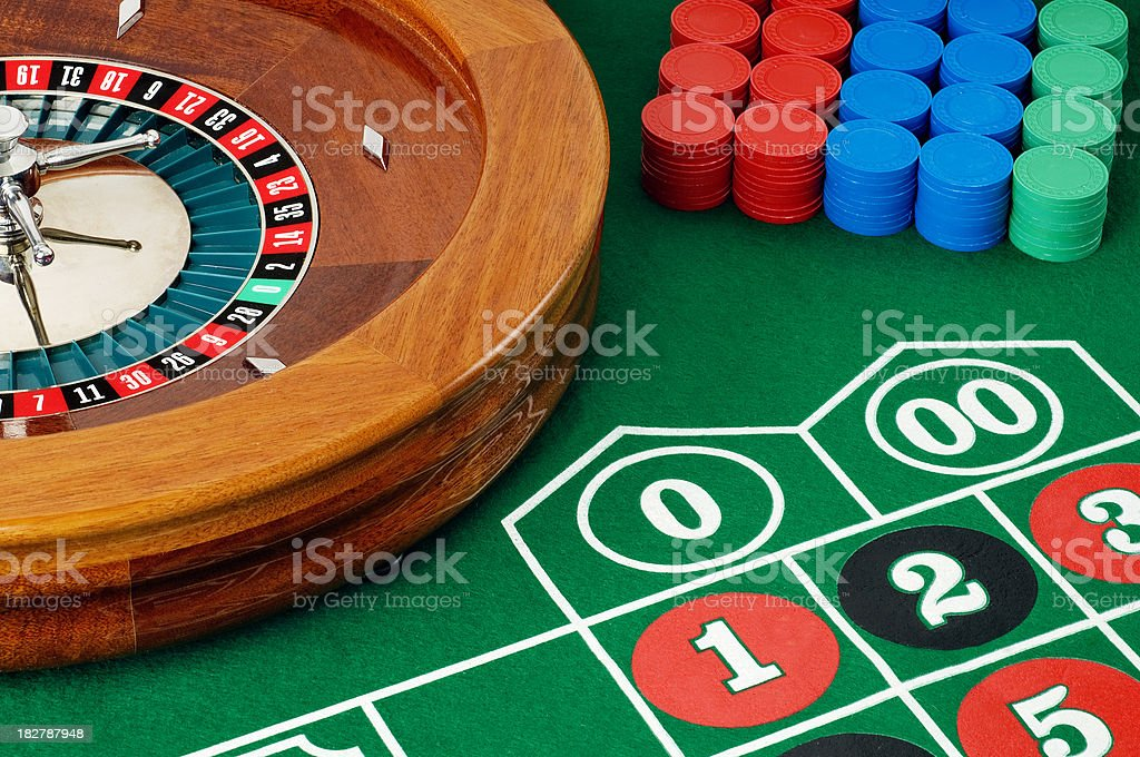 Roulette Wheel royalty-free stock photo