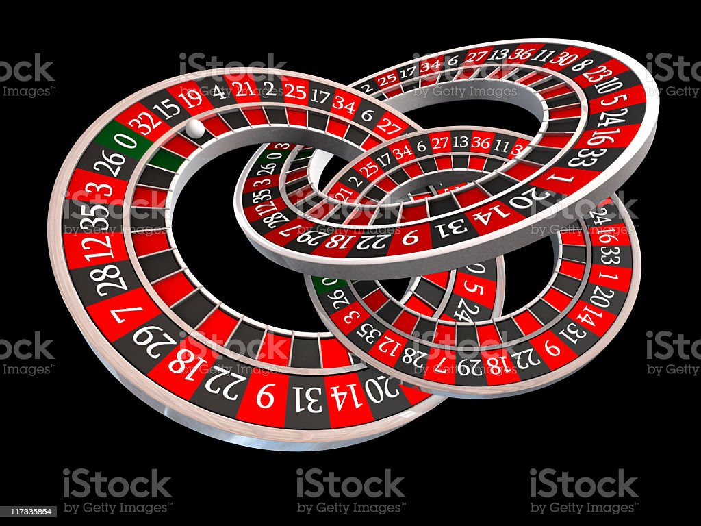 roulette wheels royalty-free stock photo