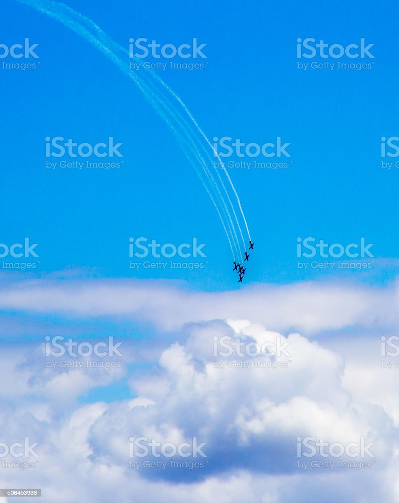 Roulettes in Blue Sky stock photo