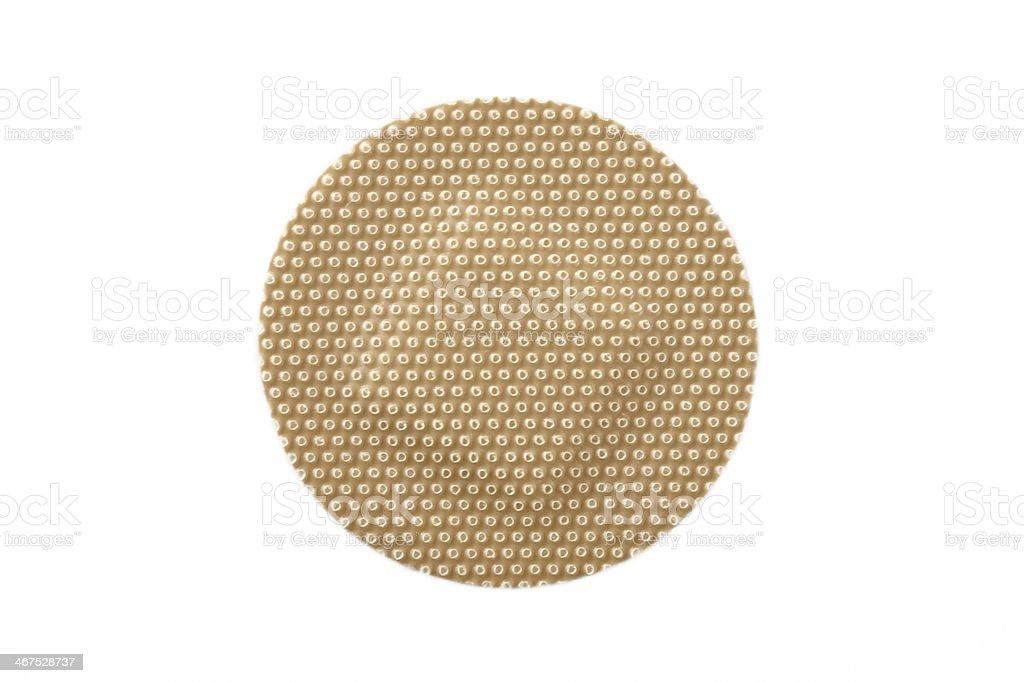 Round bandage stock photo