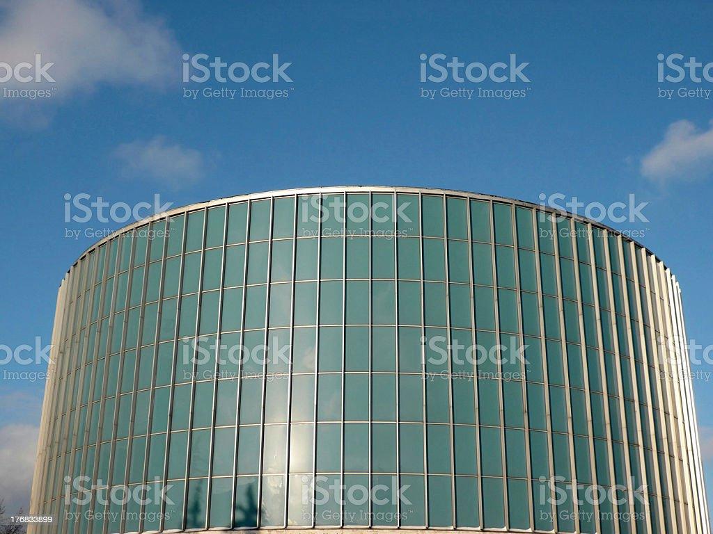 round building Borodino Panorama museum royalty-free stock photo