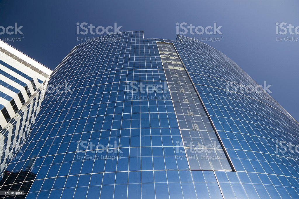 Round business building royalty-free stock photo