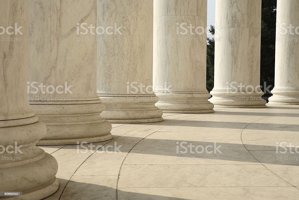 Round Column stock photo