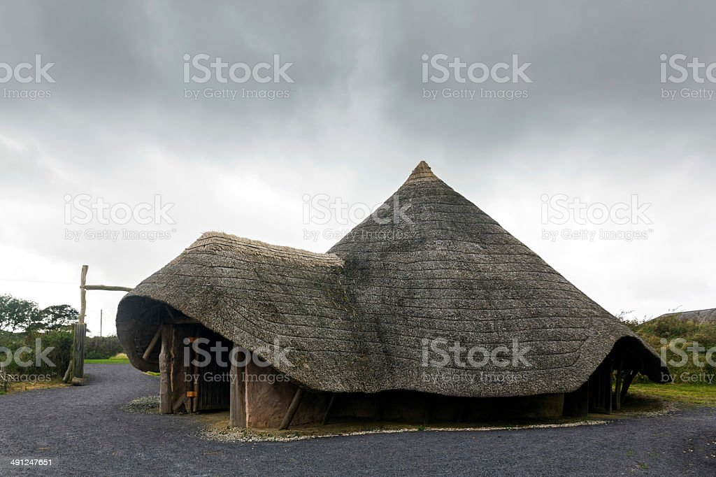 Round House Anglesey stock photo