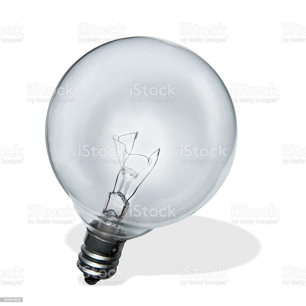 Round Lightbulb stock photo