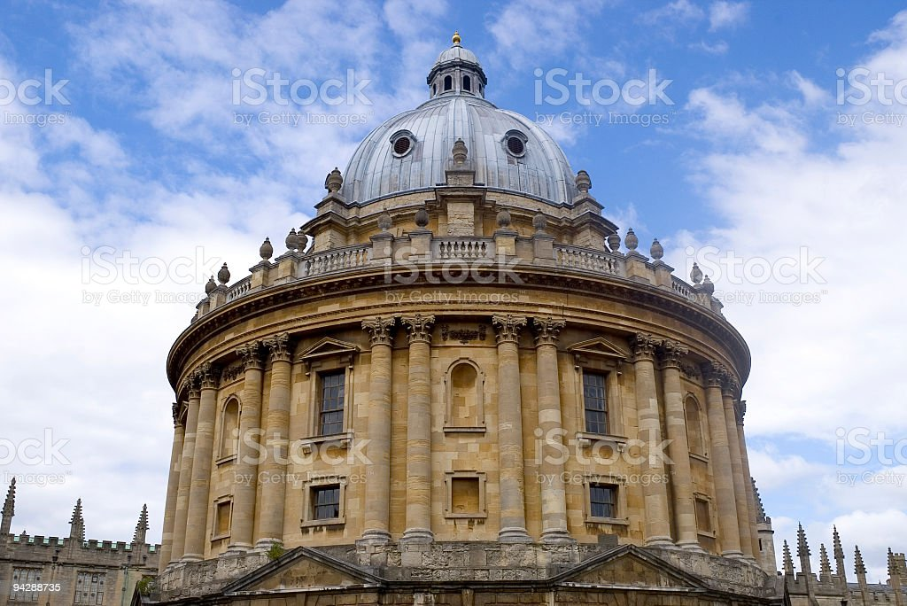 Round Palladian building royalty-free stock photo