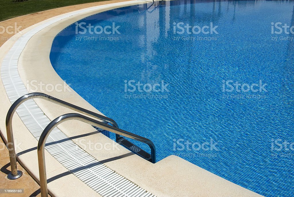 Piscina redonda royalty-free stock photo