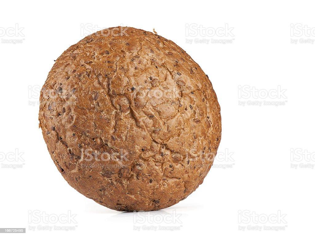 round rye bread royalty-free stock photo