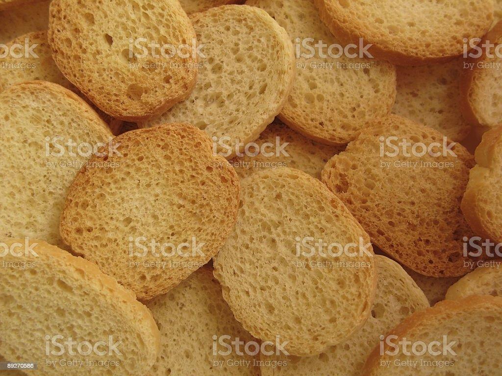 Round Slides Toasts royalty-free stock photo